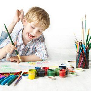 نقاشی کودکان و ایجاد ارتباط مؤثر