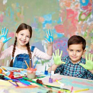 نقاشی کودکان و بالا رفتن اعتماد به نفس در آن ها