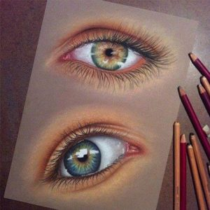 محبوب بودن تکنیک مداد رنگی مبتدی