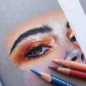 نحوه استفاده صحیح از مداد رنگی