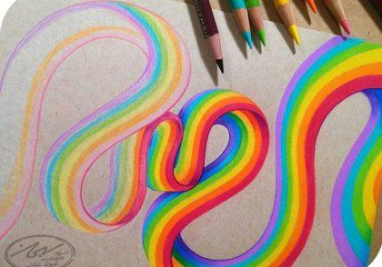 چند روش ترکیب رنگ در نقاشی به سبک حرفه ای