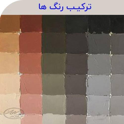 شناخت رنگ ها
