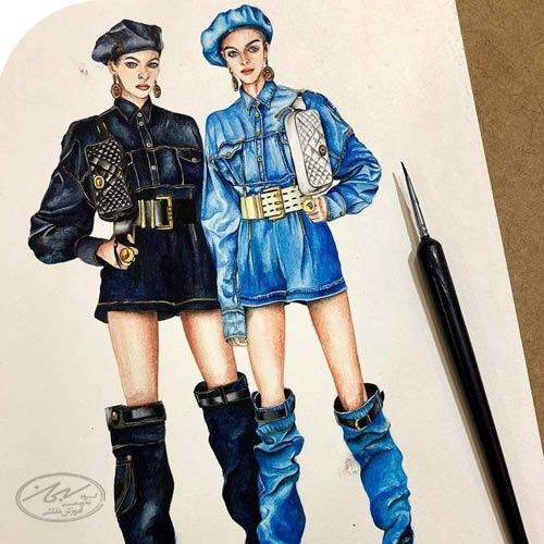 نکات مربوط به طراحی لباس و مد