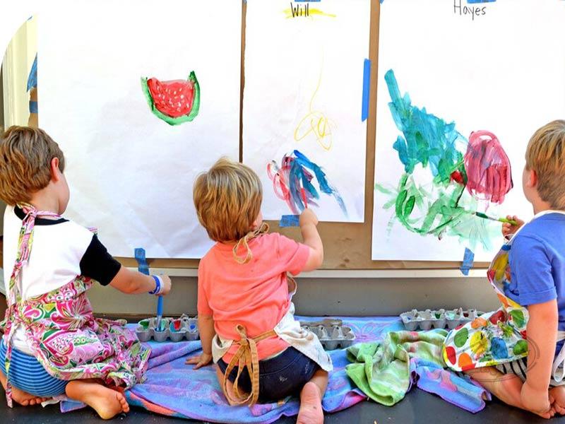ایده های نقاشی کودکان برای افزایش خلاقیت در نقاشی آنها