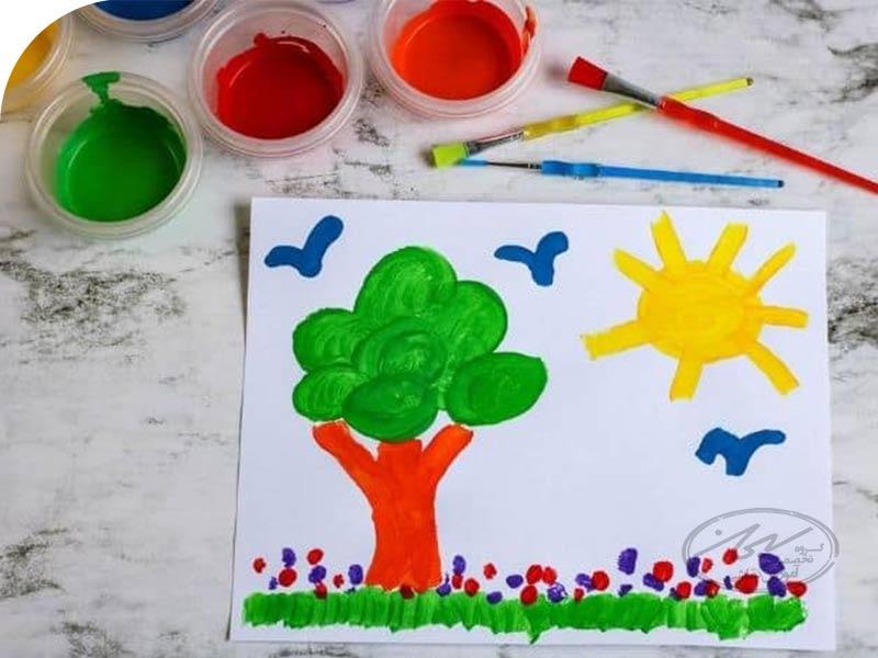مراحل رشد نقاشی در کودکان از 12 ماهگی تا 6 سالگی