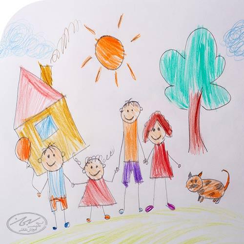 نقاشی های کودک در 5 سالگی